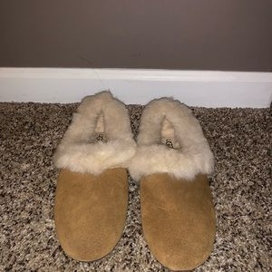 UGG slippers- worn once